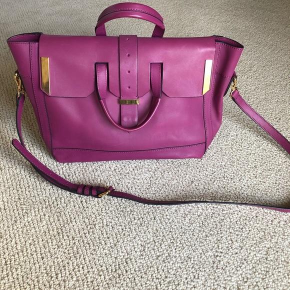 Linea Pelle Handbags - Linea Pelle Astor Satchel